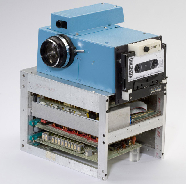 Kodak's first stand-alone digital camera