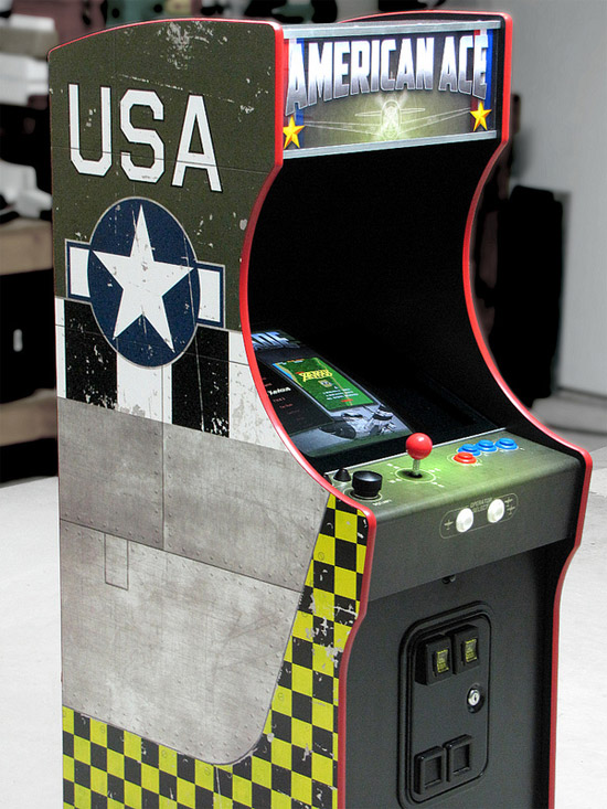 Retro thing kickstart a 34 scale arcade machine project my wife gets nervous whenever i mention arcade cabinets or pinball machines its an understandable sentiment because a good friend of mine has a basement malvernweather Gallery