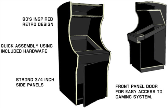 Retro thing kickstart a 34 scale arcade machine project solutioingenieria Image collections