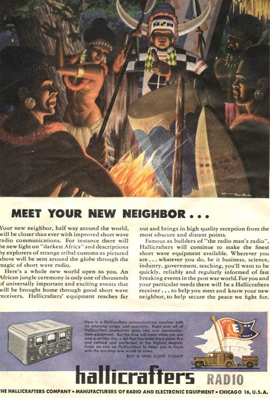 Your neighbors apparently live in Disney's Adventureland...