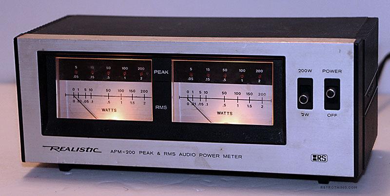 Radio shack apm-200 - HLINE
