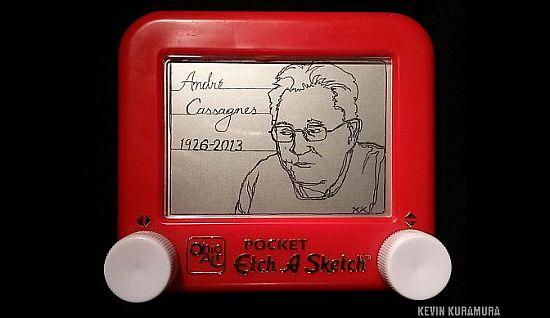 Retro Thing: R.I.P. André Cassagnes, Inventor Of The Etch-A-Sktch