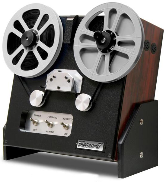 retro thing retro 8 sleek new 8mm film digitizing system. Black Bedroom Furniture Sets. Home Design Ideas