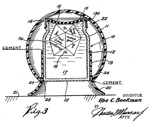 Magic 8 ball patent