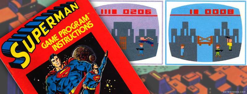 Atari superman HLIN