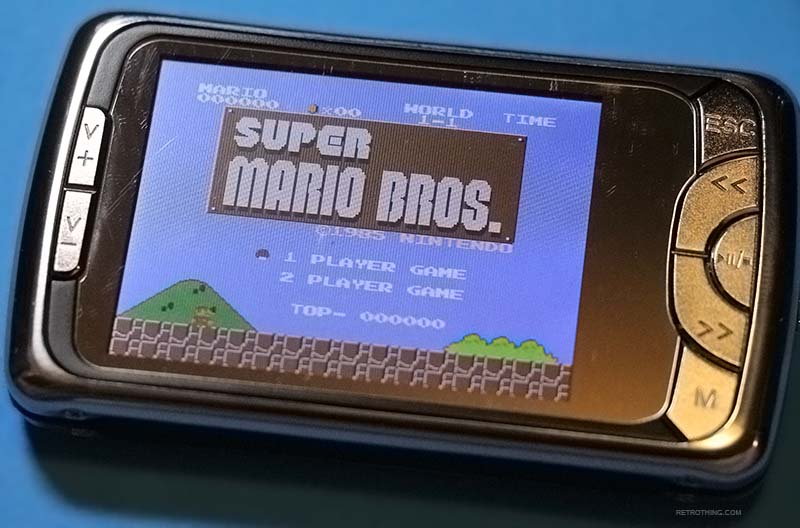 Retro Thing: $14 MP3 Player With Built In NES Emulator, But