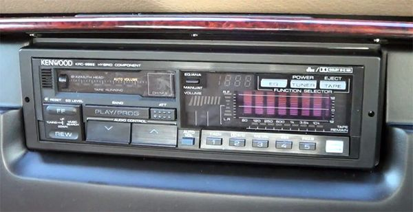 Retro Thing A Gloriously Complicated Car Cassette Deck