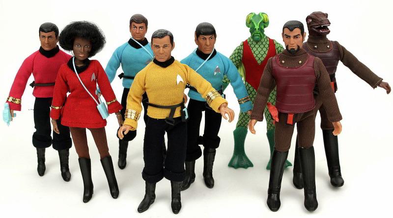 Mego - Trek crew
