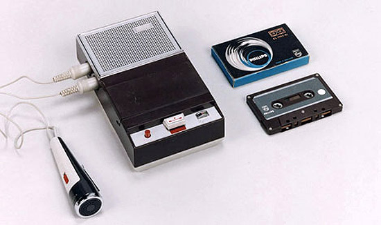 The first Philips cassette recorder