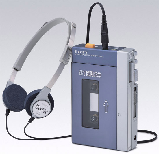 The first Sony Walkman