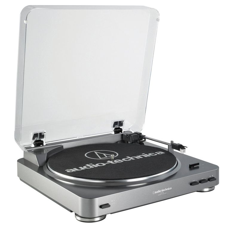The shockingly affordable Audio-Technica AT-LP60