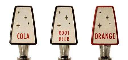 Sodapop tap handles