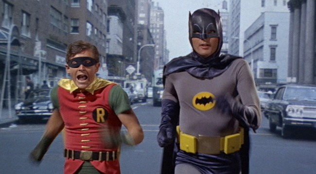 Batman robin running