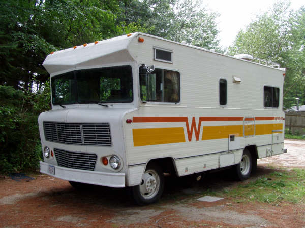 Retro thing winnebago returns to the seventies for Classic motor homes for sale