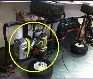Power wheels drill