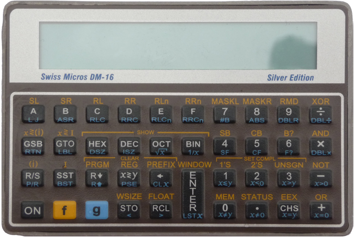 DM-16 calculator
