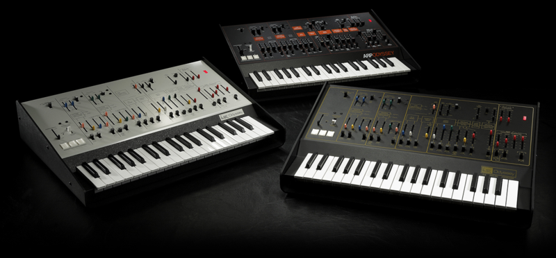 The new ARP Odyssey is available in three different versions.