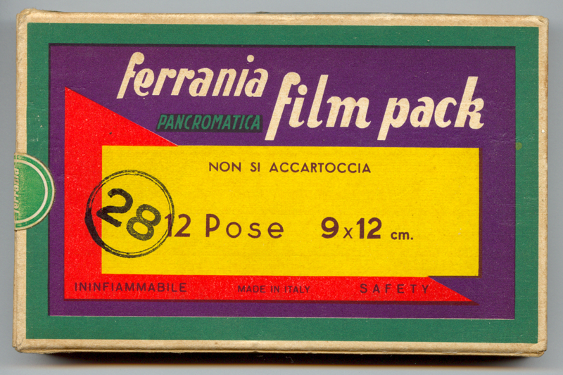 Classic Ferrania stock from the late 1950s