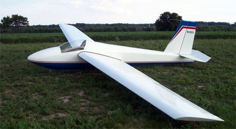 A late model 1-26E at Sylvania Soaring Adventures, Inc.