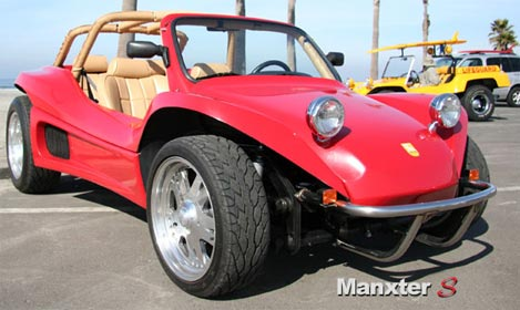 Retro Thing The Manxter Rebirth Of The Dune Buggy