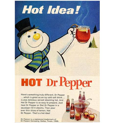 Hot Dr. Pepper