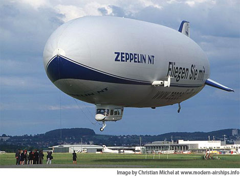 Most modern russian aircraft - The 75 Meter Long Zeppelin Nt New Technology Made Her Maiden Voyage