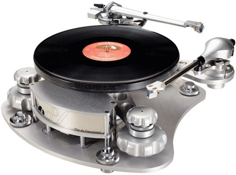 Ear Disc Master turntable