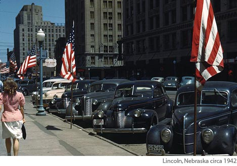 Lincoln Nebraska, 1942