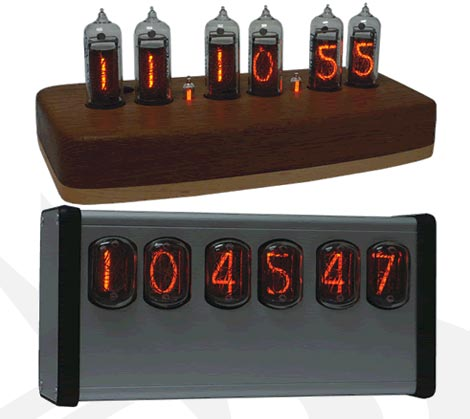 Ramsey Nixie Clocks