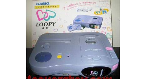 Retro Thing: Casio Loopy - Game Console For Girls