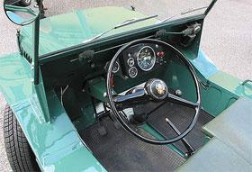 Moke dashboard