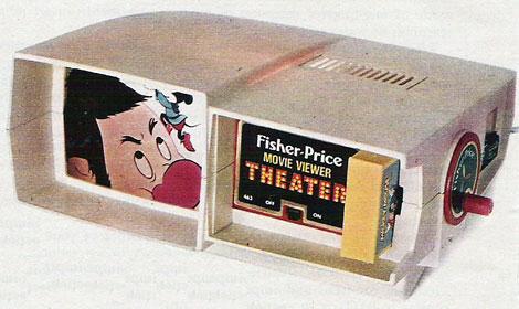 F-P movie viewer