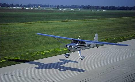 New luscombe runway
