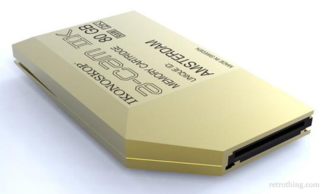 Ikonoskop memory cartridge