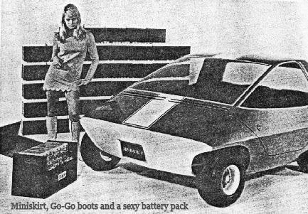 AMC Amitron with Go-Go Boots