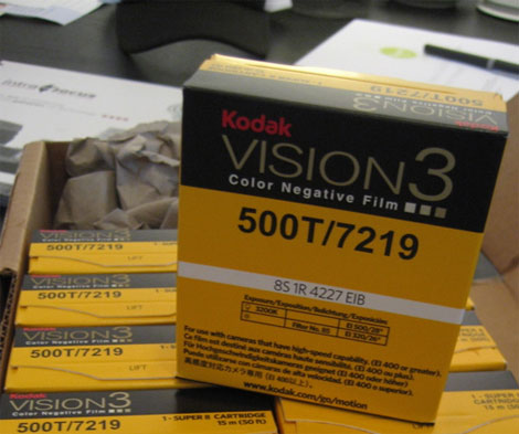 Kodak Vision3 for Super 8