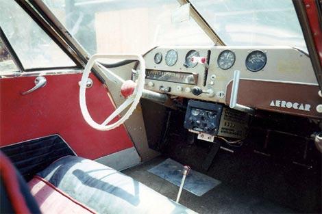 Aerocar cockpit