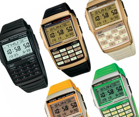 Casio calc watches
