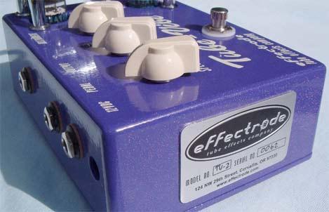 Effectrode gear