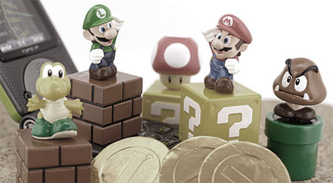 Mario chocolate