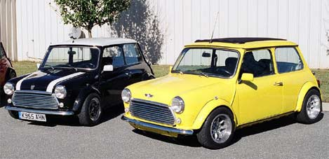 Retro Thing Vtec Powered Classic Minis 0 60 In Five Seconds