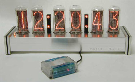 Nixiechron clock