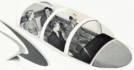 Paris cockpit