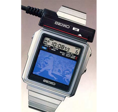 At First Glance This 1983 Wristwatch TV From Seiko Epson Appears To Be A Gadget Lovers Delight Look Bit Closer And Youll Discover Several Fatal Flaws