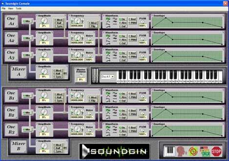 Soundgin console