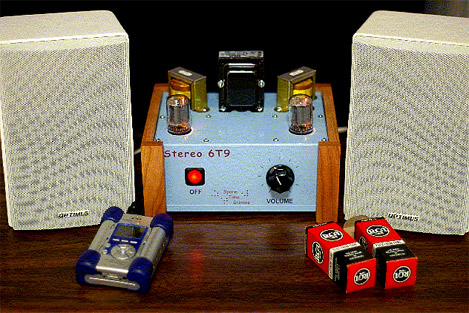 Retro Thing: Build Your Own Tube Amplifier: Stereo 6T9