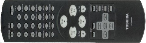 Toshiba remote
