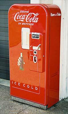 50s coke machine